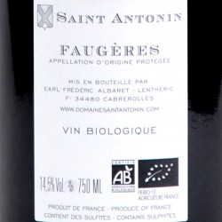 Domaine Saint Antonin - Magnoux - Faugères