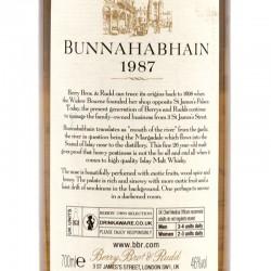 """Berrys' Bros """"Bunnahabhain 1987 26 ans"""""""