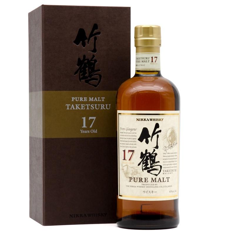 Whisky japonais Nikka Taketsuru 17 ans Pure Malt