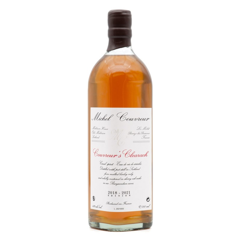 """Whisky Michel Couvreur """"Couvreur's Clearach"""""""
