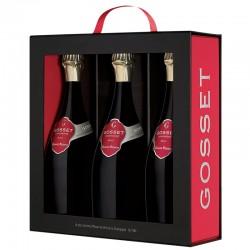 Gosset - Coffret Luxe 3...