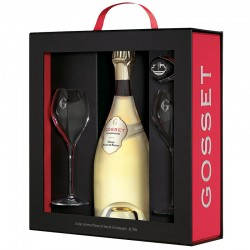 Gosset - Coffret Luxe Blanc...