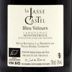 Domaine La Jasse Castel - Bleu Velours - 2019 Rouge